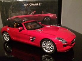 1.18 scale minichamps Mercedes