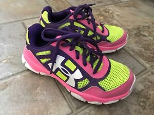 Girls Under Armour shoes size 13