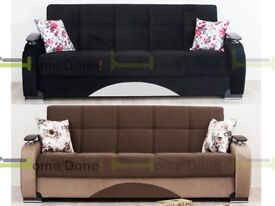 14 Day Money Back Guarantee Zoltan Luxury Sofabed In Two Sizes