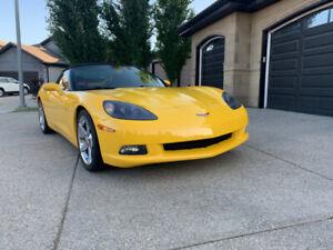 2007 Corvette Convertible Z51 3LT Custom 10K Paint