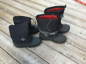 Children's Kamik boots size 6 and 7
