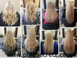 HAIR EXTENSIONS*Russian Fusion-GUARANTEED for Up to 1 YEAR Peterborough Peterborough Area image 4
