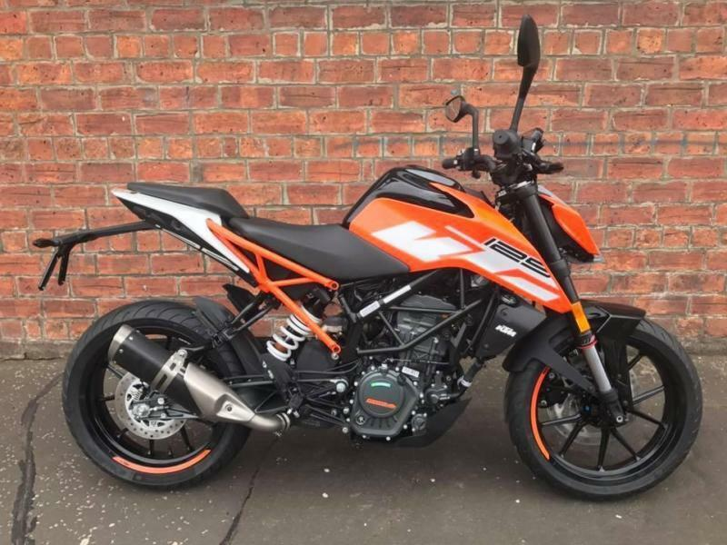 2017 KTM Duke 125 learner legal ready to race for only £18.15 a week