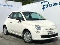 2014 14 Fiat 500 1.2 ( 69bhp ) POP Manual for sale in AYRSHIRE