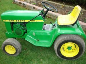 JOHN  DEERE  LAWN AND GARDEN TRACTOR  FOR  SALE