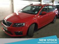 2014 SKODA OCTAVIA 2.0 TDI CR vRS 5dr Estate