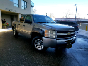2009 Chevrolet Silverado crew cab 4x4 drives like new 193 KM
