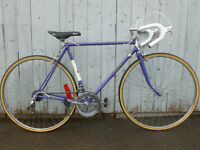 54 cm raleigh record mauve pneus neuf mise au point