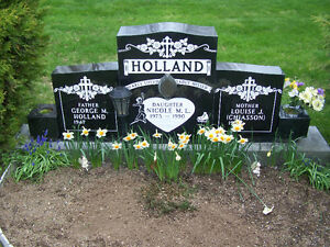 COMPLETE GRAVESTONE CLEANING, RE-LETTERING, LEVELLING OF STONES