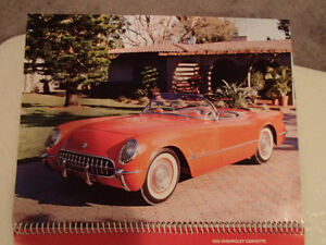 New 2002 GEAT AMERICAN CARS 12 Month CALENDAR. Issued by AKZO NO Sarnia Sarnia Area image 3