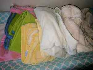 Lot of baby towels