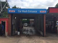Car wash worker needed