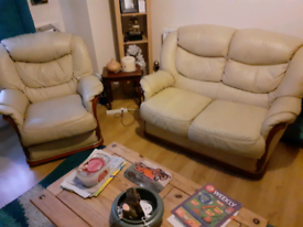 FREE leather sofa suite