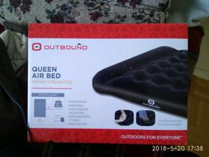 Queen air matress inflatable