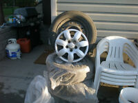 tires and rims, hubcaps
