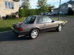 Mustang LX  5.0L notchback 1990
