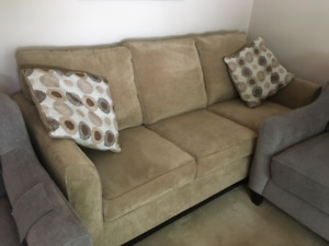 Sofa and chair