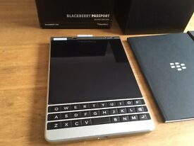 Blackberry passport silver edition brand new