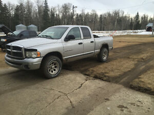 2002 dodge 1500 low kms