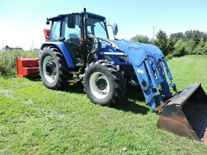 Tracteur New Holland TL90A Deluxe 2006