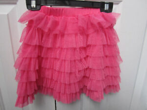 Jona Michelle Frilly Pink Skirt, Size 5, NEW - $5.00