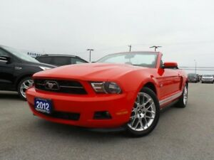 2012 Ford Mustang CONVERTIBLE 3.7L V6 PREMIUM HEATED LEATHER SEA