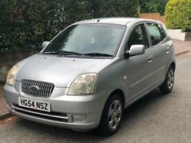 2004/54 KIA PICANTO 1.1 PETROL, MANUAL, 5-DR ***GENUINE 50,000 MILES***LONG MOT