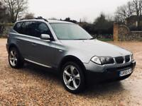 BMW X3 2.5i auto 2006(55)REG**AIR CON**FULLY LOADED**