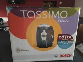 Tassimo Bosch Fidelia Coffee Machine