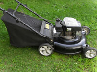 """20"""" lawnmower 4hp.with rear bag"""