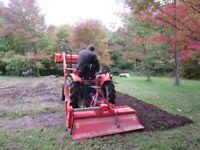 Garden Tilling and Rototilling Service