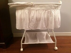 Bassinet- baby white bassinet - see all pictures  London Ontario image 2