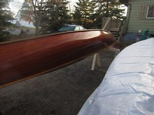 16' RIBLESS CEDAR STRIP CANOE BY TED MOORE PETERBOROUGH Peterborough Peterborough Area image 7
