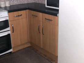 Kitchen units and worktop for sale also sink and tap