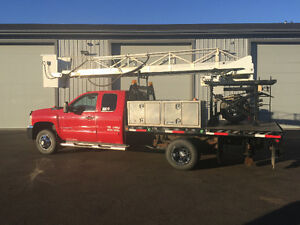 2009 Chevrolet Silverado 3500 Ladder / Bucket truck 40'