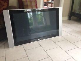 "Philips large 42"" flat screen tv."
