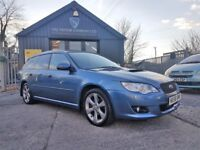 Subaru Legacy 2.0D REn Sports Tourer (blue) 2008