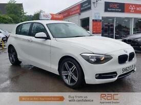 BMW 1 SERIES 114I SPORT 2012 Petrol Manual in White