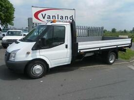 Ford Transit 2.2TDCi (125PS) (EU5) (RWD) 350 Extened Frame Dropside DRW