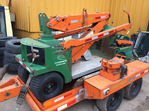 Crane self propelled,with generator& auxilliary Hydraulics
