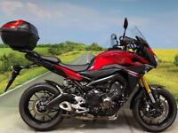 Yamaha MT09 Tracer ABS **Traction control, ABS, Power modes and top box**
