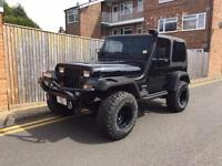 1993 Jeep Wrangler 4.0 Hard Top 4x4 MONSTER EDITION - PLATE INC ONE OFF CLASSIC