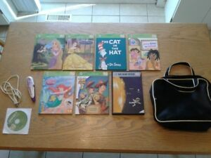 Leap Frog Tag Reader with 7 books