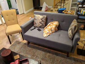 Loveseat and Chair