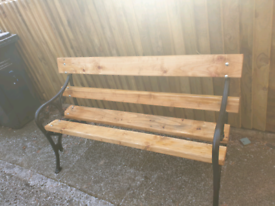 Falkirk foundry garden bench