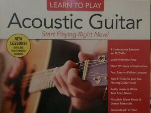 Learn To Play Acoustic Guitar 8 dvd box set