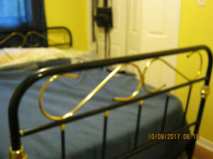 double bed frame,