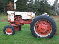 case tractor combo