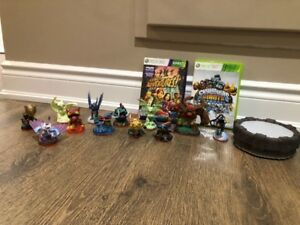 Xbox 360 Skylanders Figurines and game for sale!