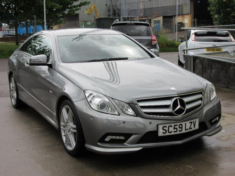 2010 Mercedes-Benz E Class 2.1 E250 CDI BlueEFFICIENCY Sport 2dr